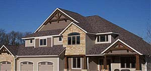 roofing large home